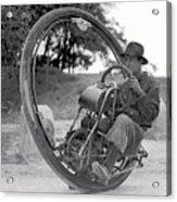 90 M P H Monocycle - 1933 Acrylic Print