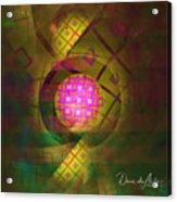 90s Neon Acrylic Print