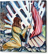 911 Cries For Jesus Acrylic Print