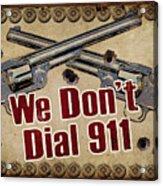 911 Acrylic Print