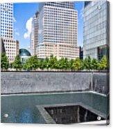 911 Memorial - Panorama Acrylic Print