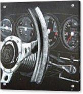 911 Porsche Dash Acrylic Print