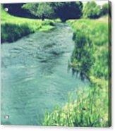 Spring Water Acrylic Print