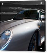 959 Porsche Acrylic Print by Paul Barkevich