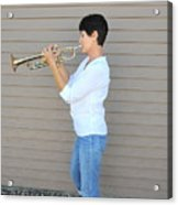 Jazz Musician. Acrylic Print