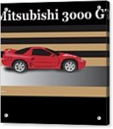 99 Mitsubishi 3000 Gt Acrylic Print