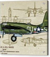 A-20 Havoc - Irene Acrylic Print