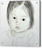 Innocent Eyes Acrylic Print