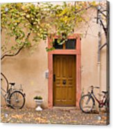 A Back Lane In Speyer Acrylic Print