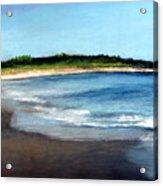 A Beach In Smithfield Acrylic Print