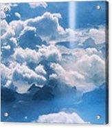 A Beam Of Heavenly Light Acrylic Print