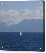 A Beautiful Day For Sailing Acrylic Print