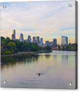 A Beautiful Day In Philadelphia Acrylic Print