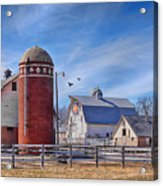 A Beautiful Quilt Barn Acrylic Print