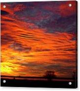 A Beautiful Valentines Sunrise Image Photo Acrylic Print
