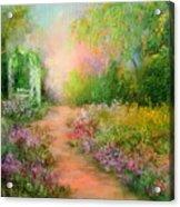 A Beautiful Walk Acrylic Print