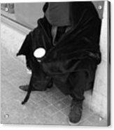 A Beggar In Jerusalem Acrylic Print