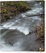 A Bend In The Flow Acrylic Print