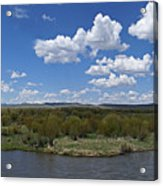A Bend In The River Acrylic Print