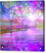 A Bewitching Purple Morning Acrylic Print