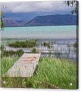 A Boardwalk To Bear Lake Acrylic Print