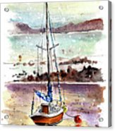 A Boat On Anglesey 01 Acrylic Print