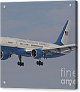 A Boeing C-32a Of The 89th Airlift Wing Acrylic Print