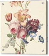 A Bouquet, Henriette Geertruida Knip, Ca. 1820 Acrylic Print