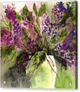 A Bouquet Of May-lilacs Acrylic Print