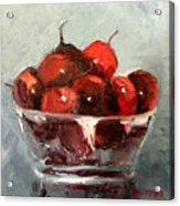 A Bowl Full Of Cherries Acrylic Print