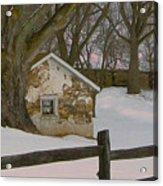 A Brandywine Winter Acrylic Print