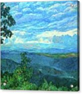 A Break In The Clouds Acrylic Print