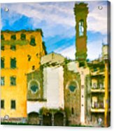 A Breeze Over Florence Acrylic Print