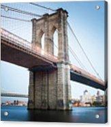 New York Bridge Acrylic Print
