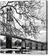 A Bridge In Winter Acrylic Print