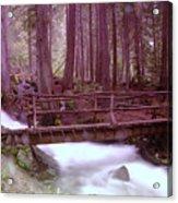 A Bridge To Paradise Acrylic Print