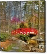 A Bridge To Spring Acrylic Print