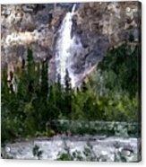 A Bridge To The Falls Acrylic Print