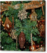 A Bronze Christmas Acrylic Print