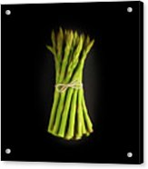 A Bunch Of Fresh Asparagus. Acrylic Print