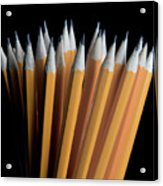 A Bunch Of Pencils Acrylic Print