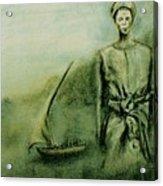 A Bunyakyusa Woman Acrylic Print