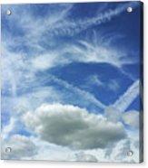 A Busy Sky Acrylic Print
