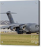 A C-17 Globemaster Strategic Transport Acrylic Print