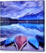 A Calm Afternoon At Lake Edith Acrylic Print