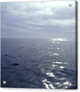 A Calm Ocean With Small Ripples Acrylic Print