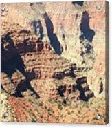 A Canyon Scene Acrylic Print