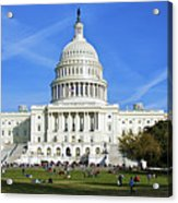 A Capitol View Acrylic Print by Mark Miller