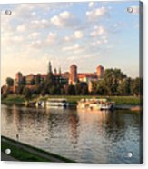 A Castle On The River Acrylic Print