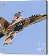 A Cf-188 Hornet Of The Royal Canadian Acrylic Print